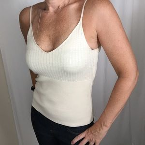 DKNY Medium Sequin Cami Knit Top